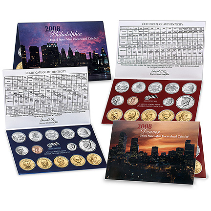 Uncirculated Mint Set 2008