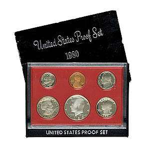 1980 Proof Set