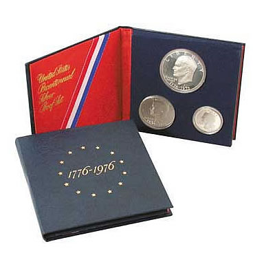 1976 Proof Set Silver 3pc