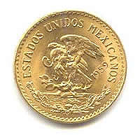 Mexico 20 Pesos Gold Coin