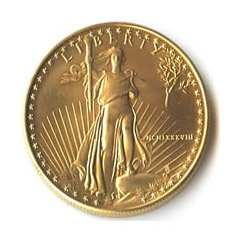 1988 American Gold Eagle 1/2 oz Uncirculated