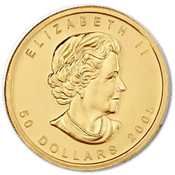 1 oz Canadian Gold Maple Leaf Uncirculated - Random Year