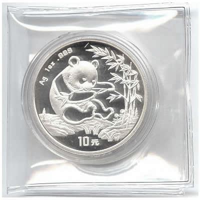 1994 Chinese Silver Panda 1 oz - Small Date