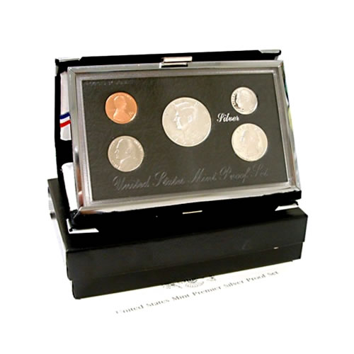 Premier US Silver Proof Set 1996
