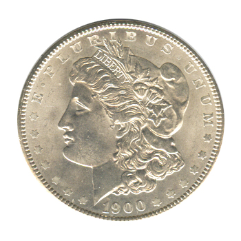 Morgan Silver Dollar Uncirculated 1900