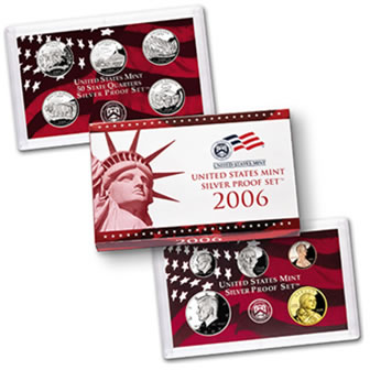 US Proof Set 2006 Silver
