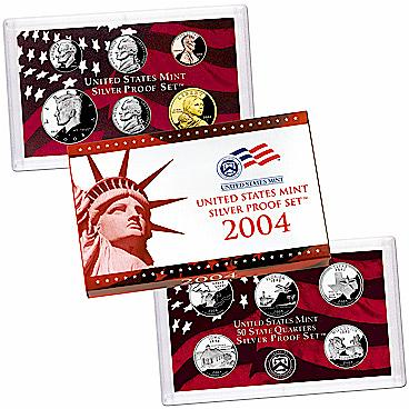 US Proof Set 2004 Silver