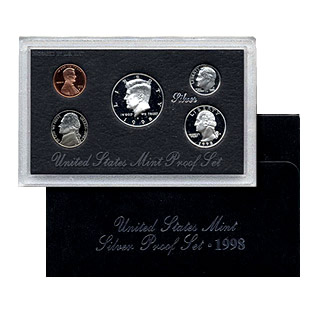 US Proof Set 1998 Silver