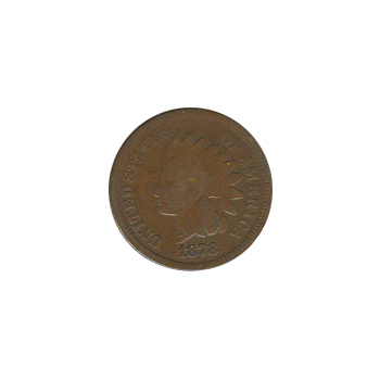 Indian Head Cent 1878 G-VG