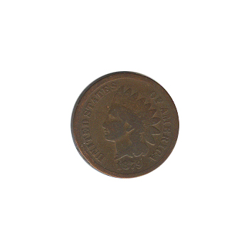Indian Head Cent 1879 G-VG