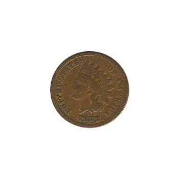 Indian Head Cent 1882 G-VG