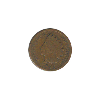 Indian Head Cent 1895 G-VG