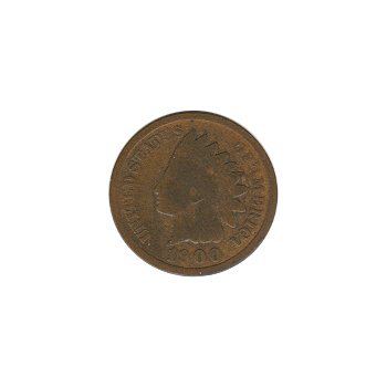 Indian Head Cent 1900 G-VG