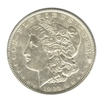 Morgan Silver Dollar Uncirculated 1903