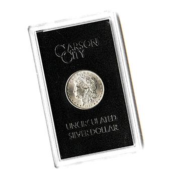 Carson City Morgan Silver Dollar 1881 Cc Uncirculated Gsa
