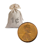 Lincoln Wheat Cents 1940-58 1000 pcs.