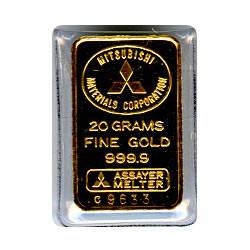 20 Gram Gold Bar - Random Manufacturer