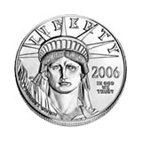 Platinum American Eagle Half Ounce (dates our choice)
