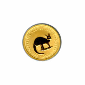 Australian Gold Nugget / Kangaroo Quarter Ounce (dates our choice)
