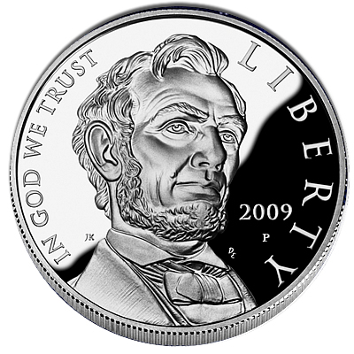 US Commemorative Dollar Proof 2009 Lincoln