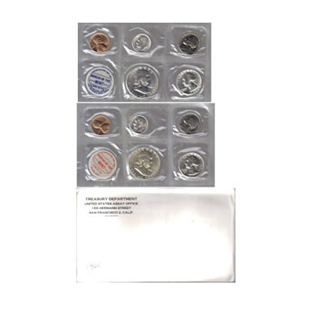 Uncirculated Mint Set 1961