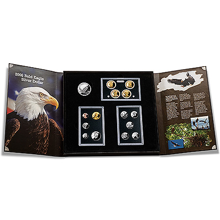 American Legacy Collection Set 2008 Golden Eagle Coins