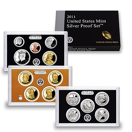 US Proof Set 2011 Silver