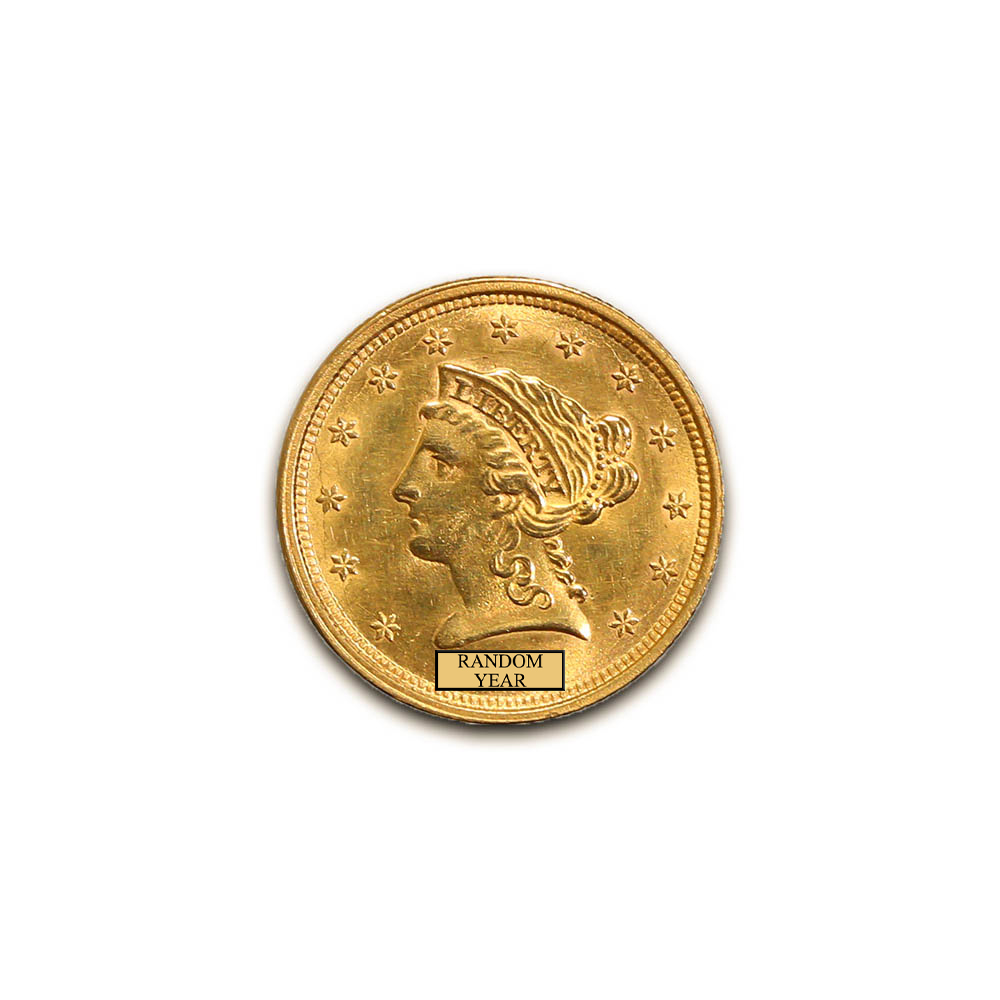 Early Gold Bullion $2.5 Liberty Uncirculated