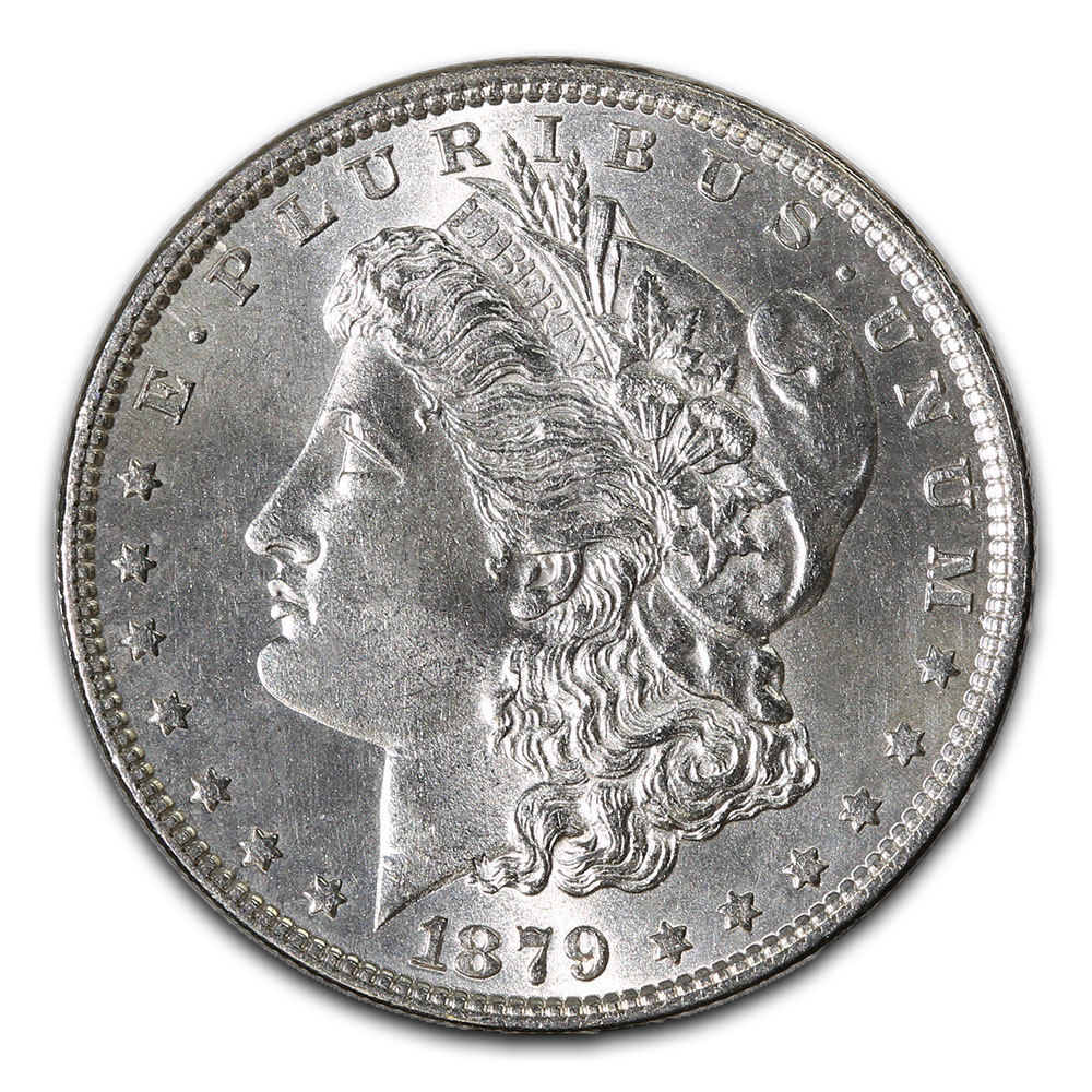 Morgan Silver Dollar Uncirculated 1879