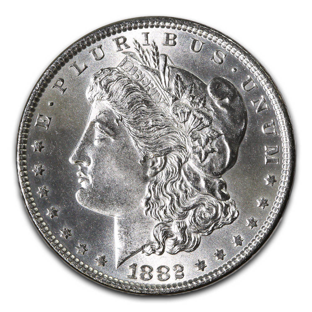 Morgan Silver Dollar Uncirculated 1882
