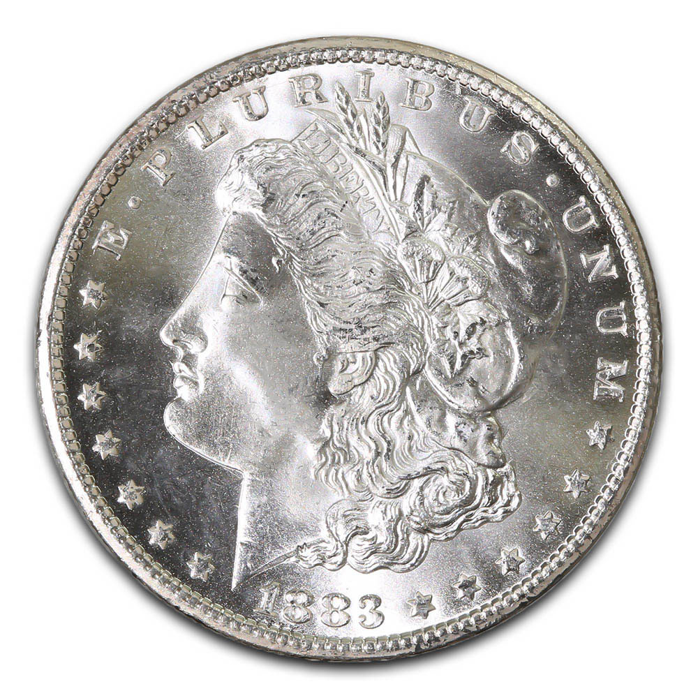 Morgan Silver Dollar Uncirculated 1883-O
