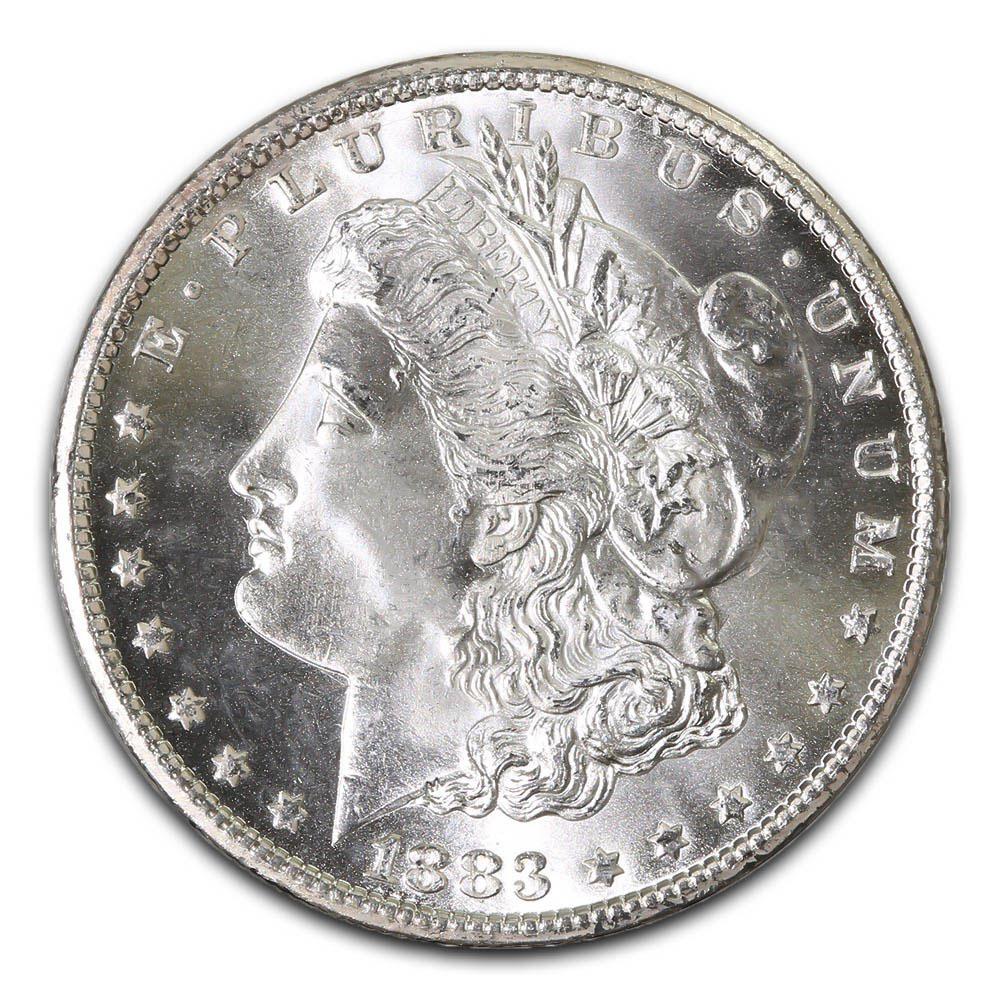 1883 s morgan silver dollar coin value