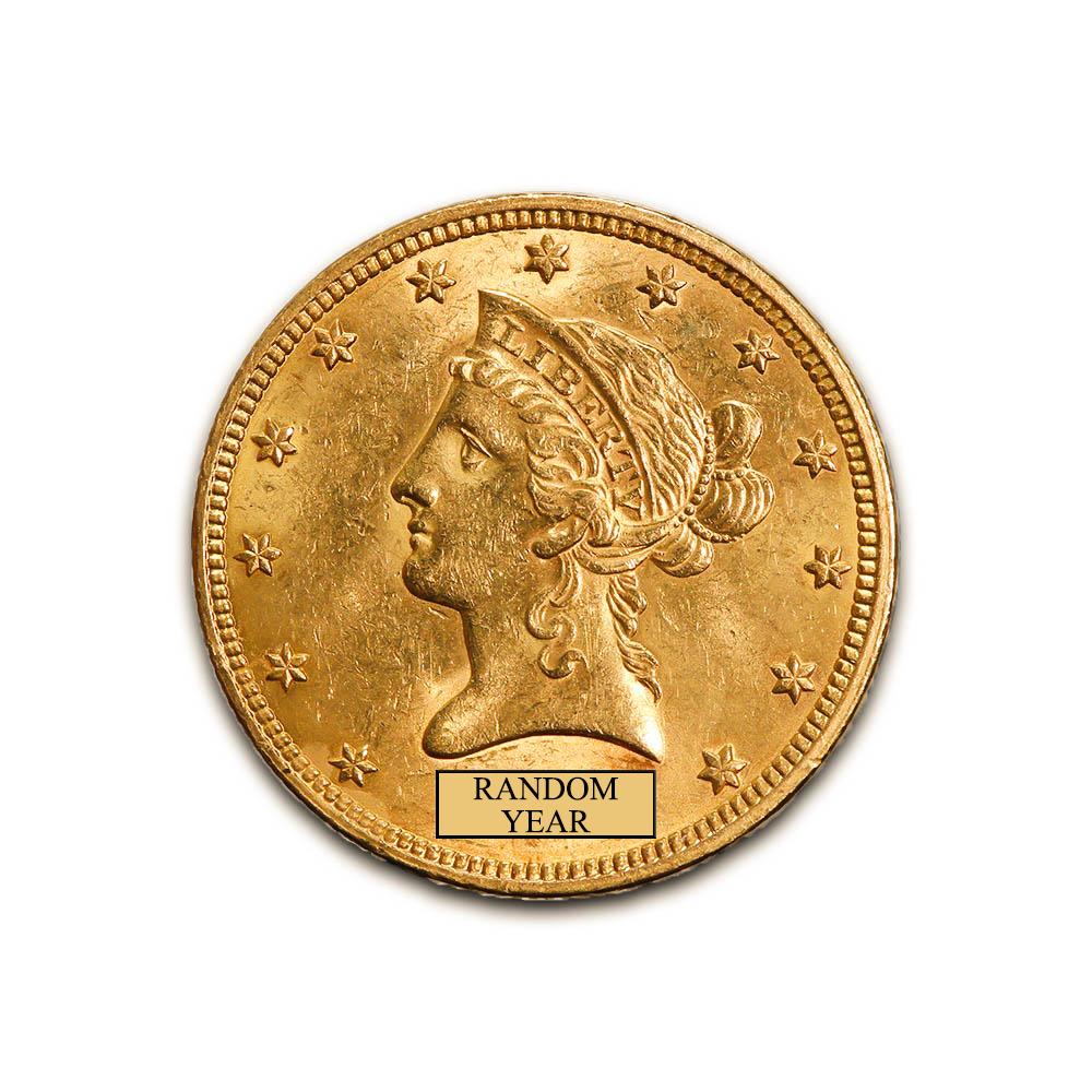 Early Gold Bullion $10 Liberty Uncirculated