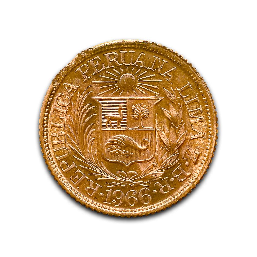 Peru half libra gold 1902-1969