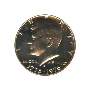Kennedy Half Dollar 1976-S Proof