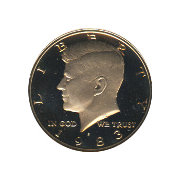 Kennedy Half Dollar 1983-S Proof