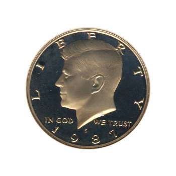 Kennedy Half Dollar 1987-S Proof