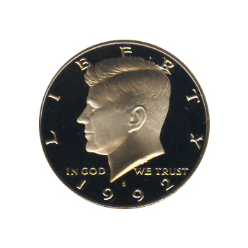 Kennedy Half Dollar 1992-S Proof
