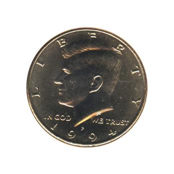 Kennedy Half Dollar 1994 P Bu Golden Eagle Coins