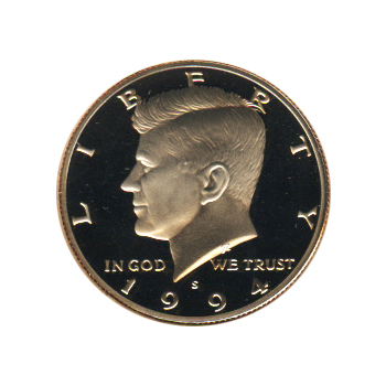 Kennedy Half Dollar 1994-S Proof