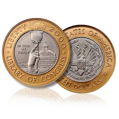 list of bimetallic coins