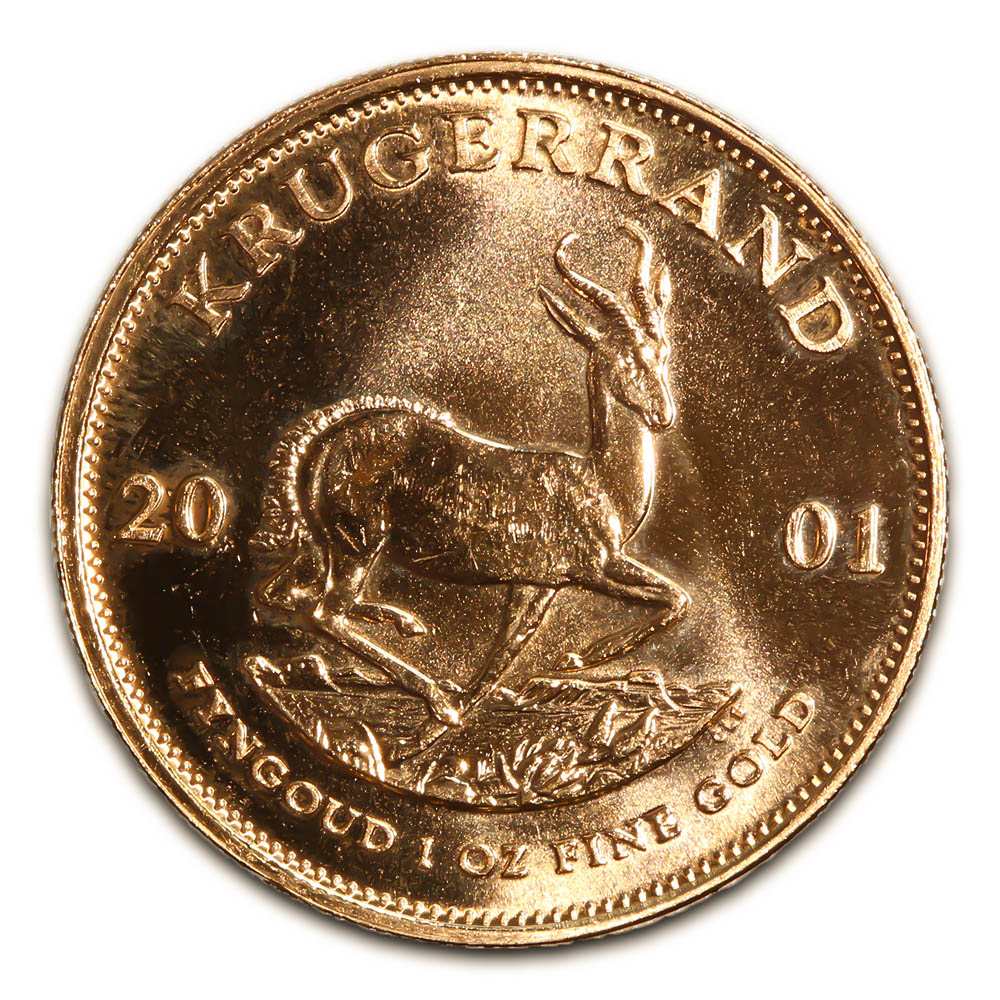 South Africa Gold Krugerrand 1 Ounce 2001