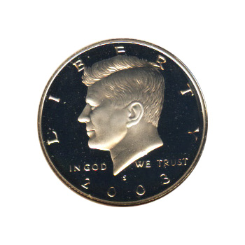 Kennedy Half Dollar 2003-S Proof Silver
