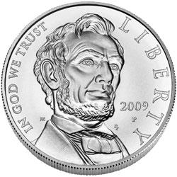 2009-P Abraham Lincoln Uncirculated Commemorative Silver Dollar