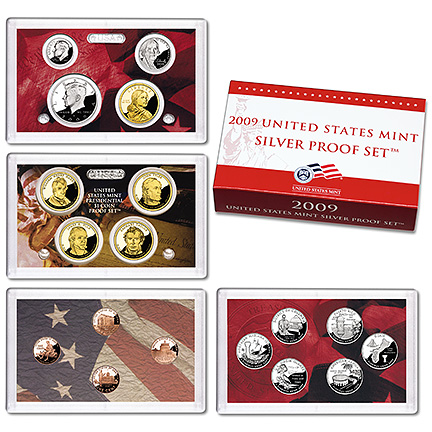 US Proof Set 2009 Silver
