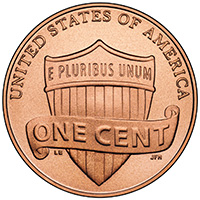 2010 Lincoln Cent Roll - Shield