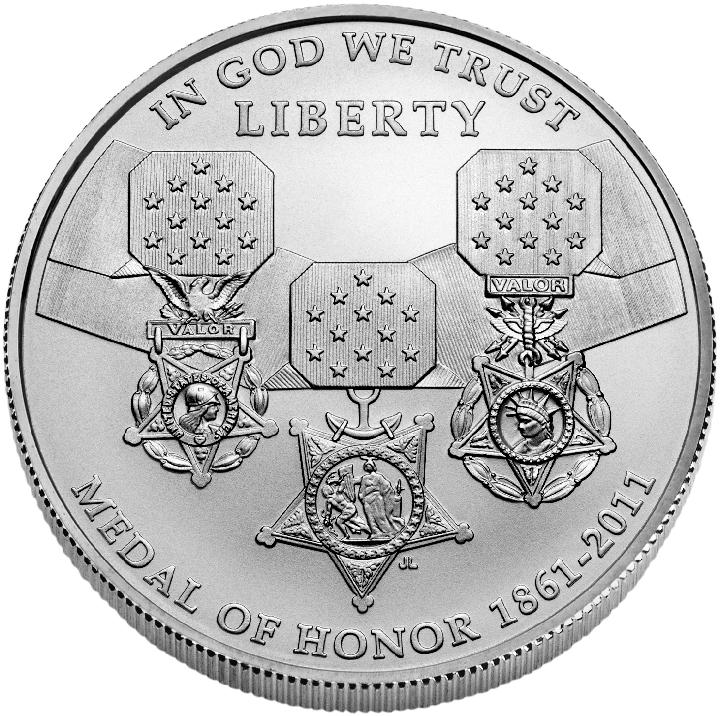 Us Commemorative Dollar Uncirculated 2011 S Medal Of Honor