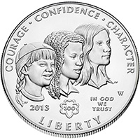 US Commemorative Dollar Uncirculated 2013 Girl Scouts