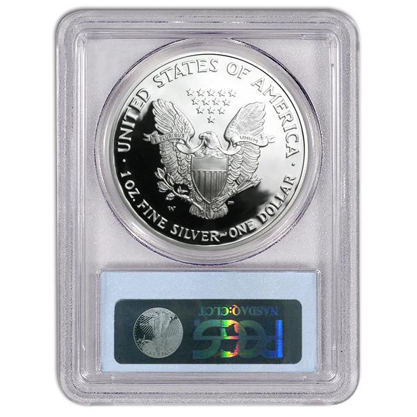 Certified Proof Silver Eagle 2013-W PR70DCAM PCGS