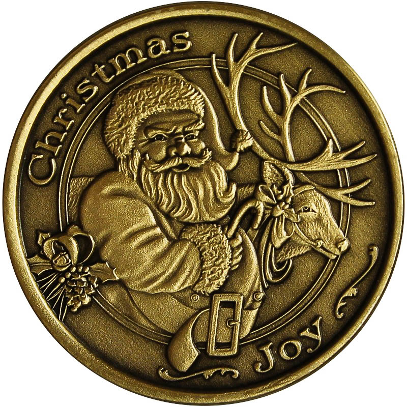 Christmas 2014 Bronze Coin Bx 14 Baby S First Christmas